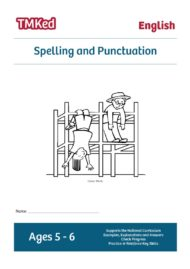 Key Stage 1 Literacy Worksheets for kids - SPAG, spelling and punctuation printable workbook, 5-6 years